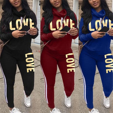 tracksuit for women, Fashion, pants, Long sleeved