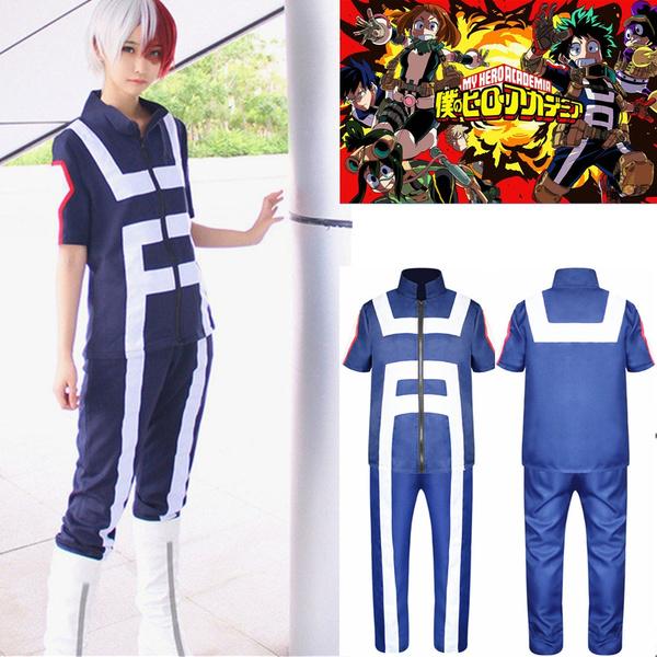 Mon Boku no hero Academia Costume midoriya izuku Todoroki Shoto Uniforme Cosplay
