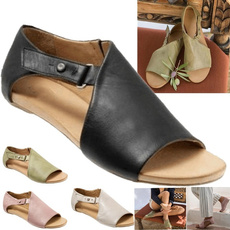 Summer, Plus Size, Women Sandals, Womens Shoes