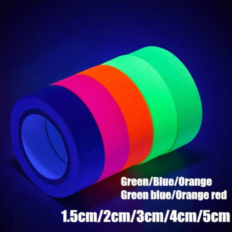 Glow In The Dark Luminous Fluorescent Night Self-adhesive Safety Sticker Tape