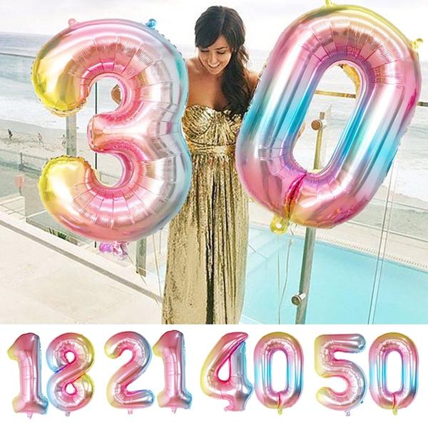 foilballoon, 21stbirthday, 30thbirthday, birthdayballoon