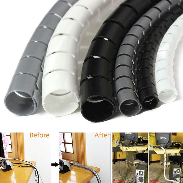 Wiring Electrical Management Tube Winding Pipe Spiral Protective Case