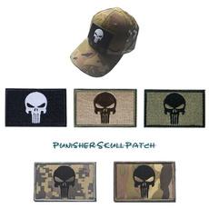 punisher, skull, Army, Armband