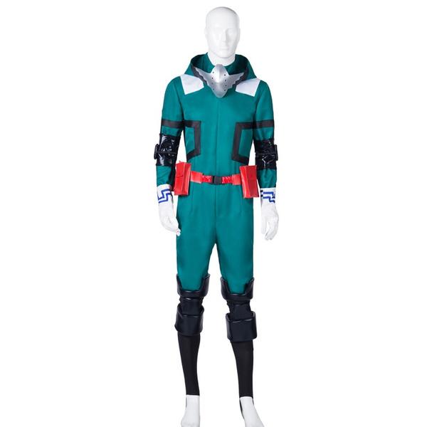 Anime My Hero Academia Cosplay Costume Midoriya Izuku Cosplay Costume Deku Combats Uniform Halloween