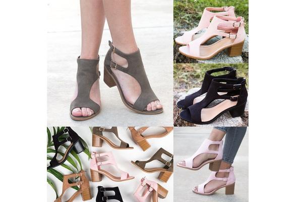 Fashion Shoes Women Summer Sandals Ladies Wedge Fish Mouth Hollow Roma Elegant Sapato Feminino
