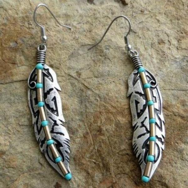 Turquoise, Dangle Earring, Jewelry, Hooks