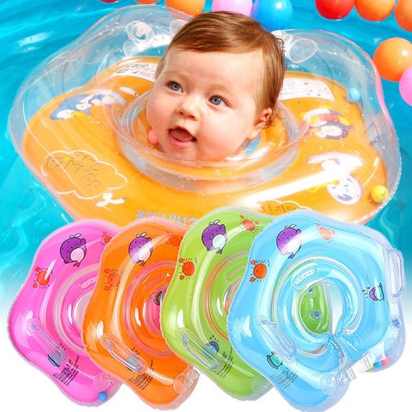 Baby Schwimmring für den Hals Babyschwimmring Schwimmkragen Badehilfe Kinder