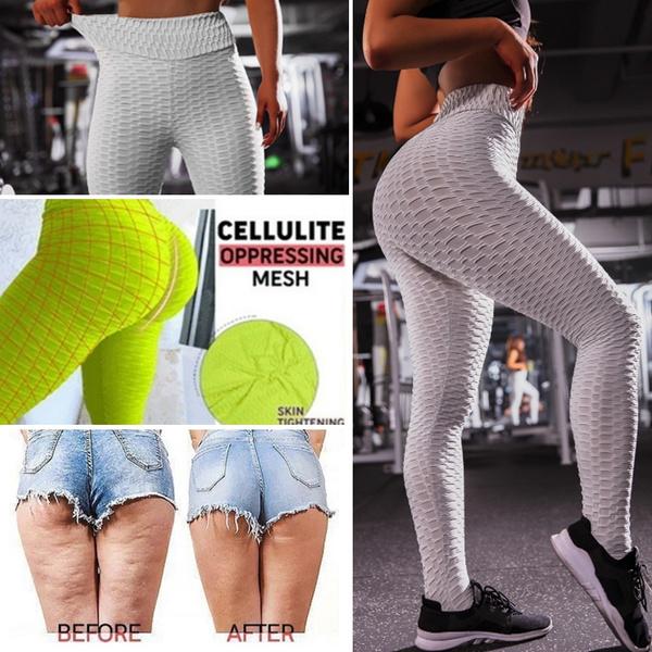 8a2b658f6dd33 Anti-Cellulite Compression Leggings Yoga Pants Lift The Hips ...