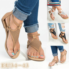 casual shoes for flat feet, Sandals, Women Sandals, Lace