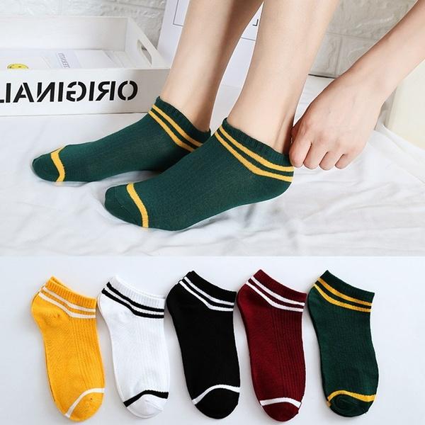 boatsock, Shorts, Running, Cotton Socks
