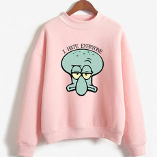 Fashion, Sponge Bob, pullover sweater, Long Sleeve
