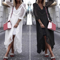 Summer, Lace Dress, Lace, maxides