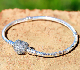Sterling, Beaded Bracelets, Fashion, gold