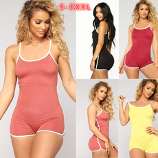 bodycon jumpsuits, nightwear, Shorts, slim