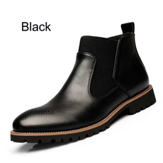 ankle boots, Summer, Leather Boots, leather shoes