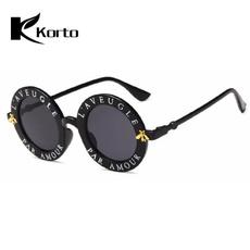 glassesforwoman, Designers, 90ssunglasse, Round Sunglasses