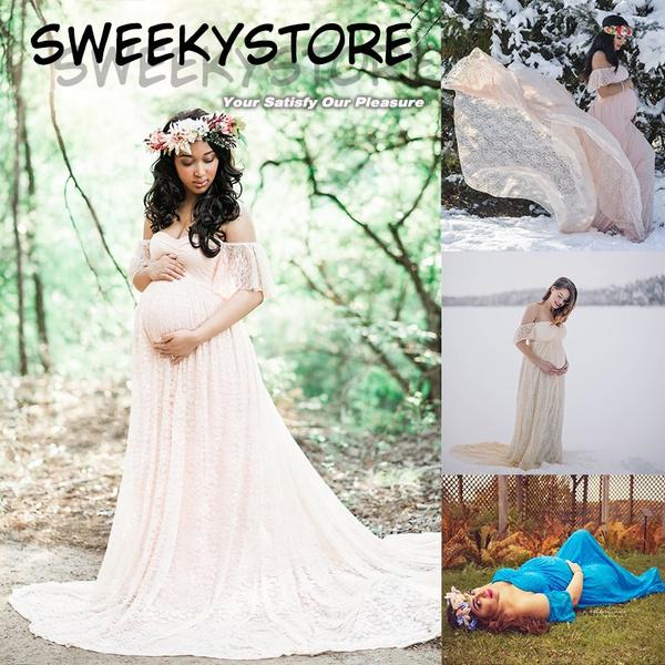 45dd1a8bf03ee off shoulder, pregnancyweddinggown, laceweddingdres, cocktailpartydresse