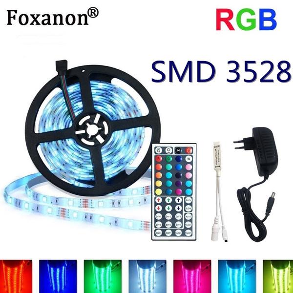 44key Remote control 10M 3528 RGB 300 LED SMD Flexible Light Strip Lamp