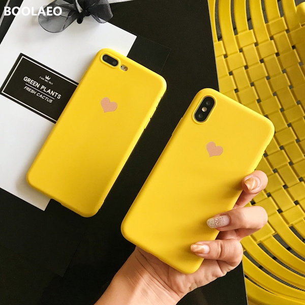 Fashion Love Heart Pattern Tpu Case For Iphone X Xr Xs Max Soft Back Case For Iphone 7 8 6 6s Plus Phone Upgrades Accessories by Wish