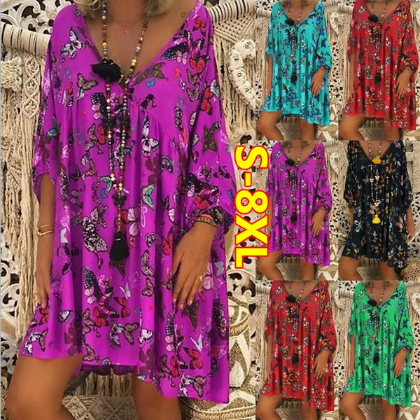 Mini, Fashion, ruffle, Dress