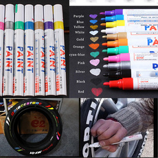 tyrepaintmarkerpen, paintpen, Waterproof, Cars