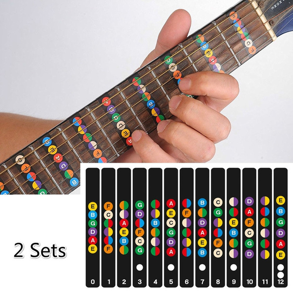 scalesticker, fretboardsticker, Stickers, Guitars