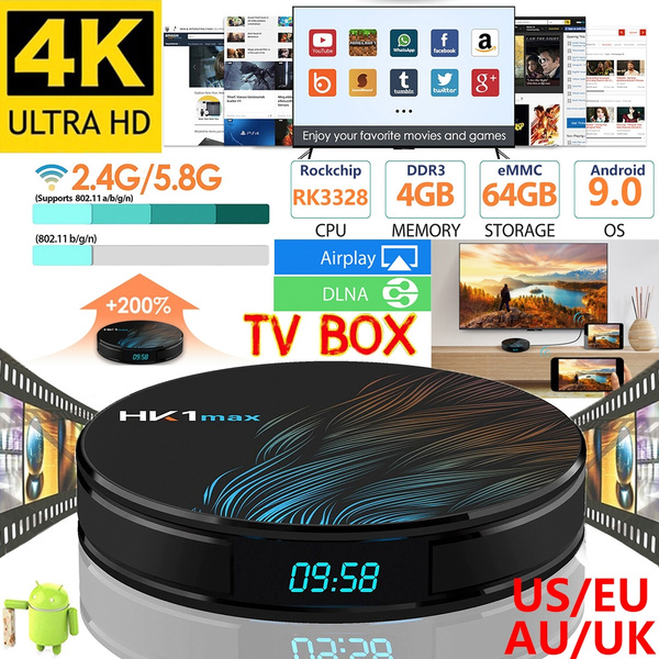 Tanix TX6 Android 9 Smart TV Box android 9 0 Allwinner H6 4GB RAM 32GB ROM  Support 4K H 265 2 4G/5GHz WiFi BT4 1 Media Player