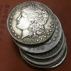 Antique, silvercoin, Jewelry, Gifts