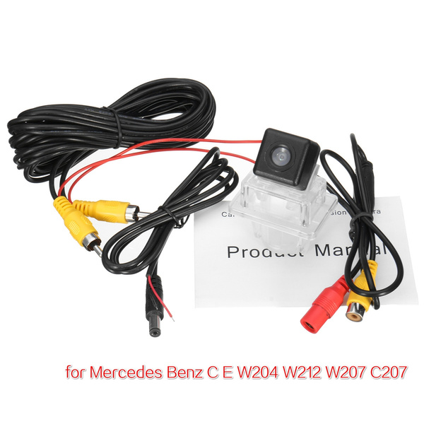 for Mercedes Benz C E Class W204 W207 W212 CCD Car Rear View Backup  Camera