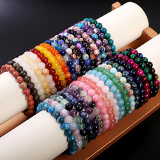 Charm Bracelet, 8MM, Fashion, eye