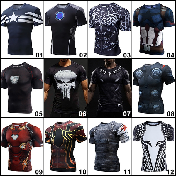 Shorts, marvelshirt, Shirt, avengersshirt