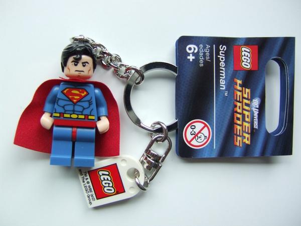 853430 Superman Keyring Lego Super Heroes