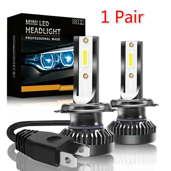 2PCS Waterproof Car LED Headlight 60 W 8000LM Car Headlight H1 H7 LED Mini  Car Headlight Lamps LED H7 H8 H11 Headlights Kit 9005 HB3 9006 HB4 Auto