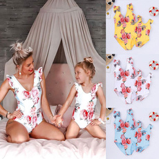 Summer, summer bikini, Floral print, Fashion