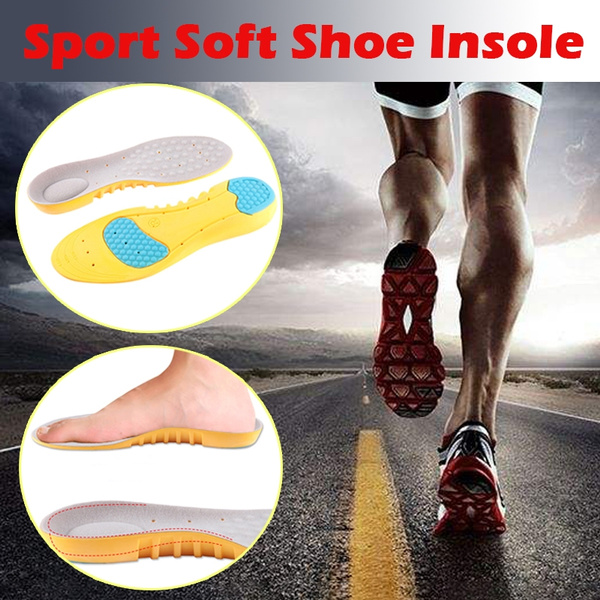 bd4d8cf19a Sport Orthotic Plantar Fasciitis Shoe Insert Breathable High Arch ...