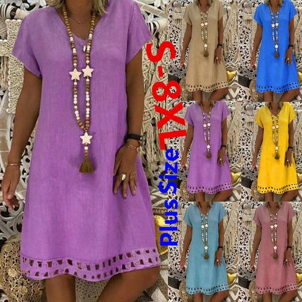 Mini, short sleeve dress, ruffle, Summer