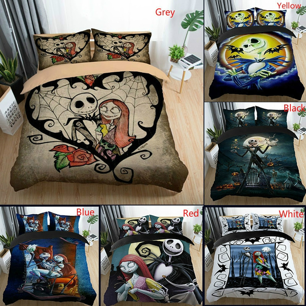 3d The Nightmare Before Christmas Bedding Set Comforter Cover With