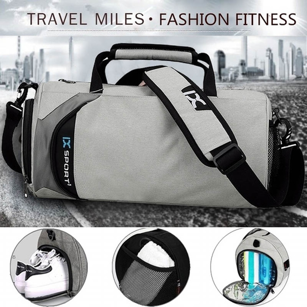 Waterproof Travel Gym Bag  Sports Bag with Pocket for Shoe Duffle Bag