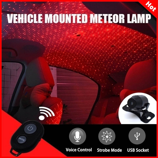 Ambient Mini Usb Galaxy Roof Decoration Interior Projector Universal Car Atmosphere Night Star Led Lights Room Plug Light Lamp 8yNnvmO0w