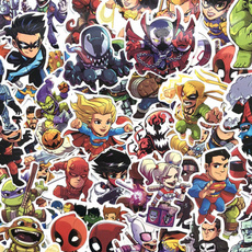 Car Sticker, Marvel, Batman, Stickers