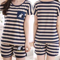 Summer, casualsleepwear, Shorts, Sleeve