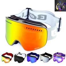 Goggles, skihelmet, magneticglasse, Ski Goggles
