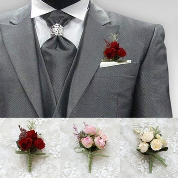 Bridesmaid, men accessories, Flowers, Wedding Accessories