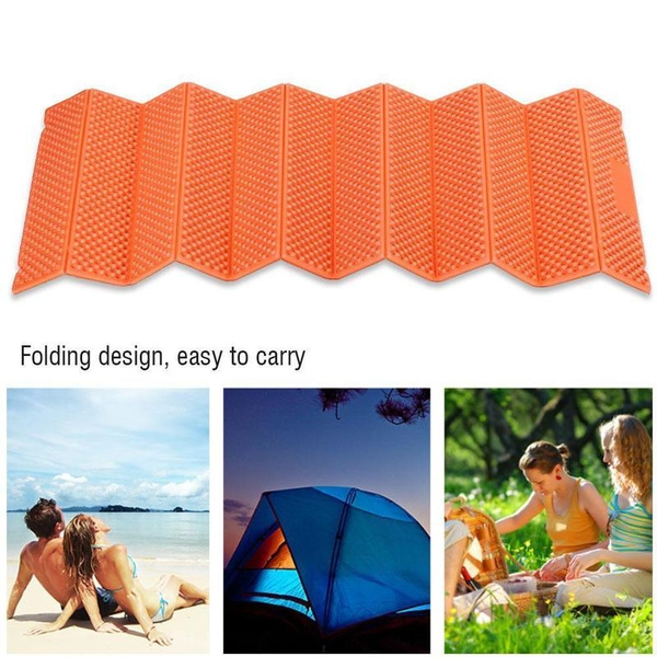 Ultralight Foam Camping Mat Folded Beach Tent Sleeping Pad Waterproof  Mattress