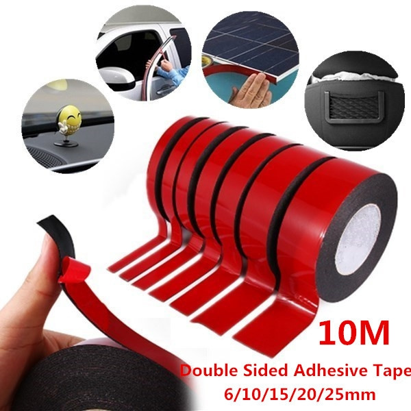 120Pcs 3M Double Sided Black Foam Tape Strong Pad Mounting Rounds Adhesive  Car & Home Use Adhesives