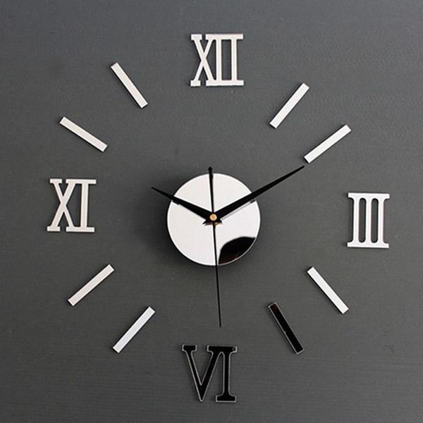 wallstickersampmural, Clock, Stickers, diyclock