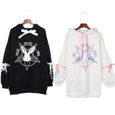 Kawaii, cute, Goth, hooded