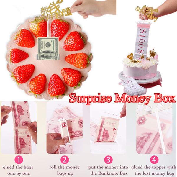 Cool Birthday Surprise Gift Box Napkin Banknote Box Tissue Box Surprise Funny Birthday Cards Online Inifofree Goldxyz