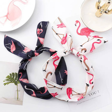 flamingopattern, headwearforwomen, Fashion, turbanhairband