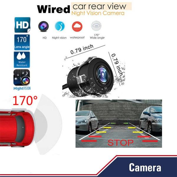 420 TVL HD 170° Wide View Angle Car Front View Camera Night Vision for Honda